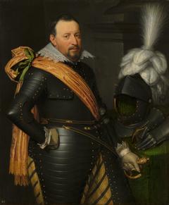 Portrait of an Officer, possibly Adolf van Meetkerken (d. 1625)
