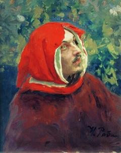 Portrait of Dante. Study. Modeled by Dmitry Scherbinovskiy