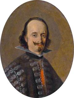 Portrait of Don Caspar de Bracamonte y Guzman, count of Peñeranda