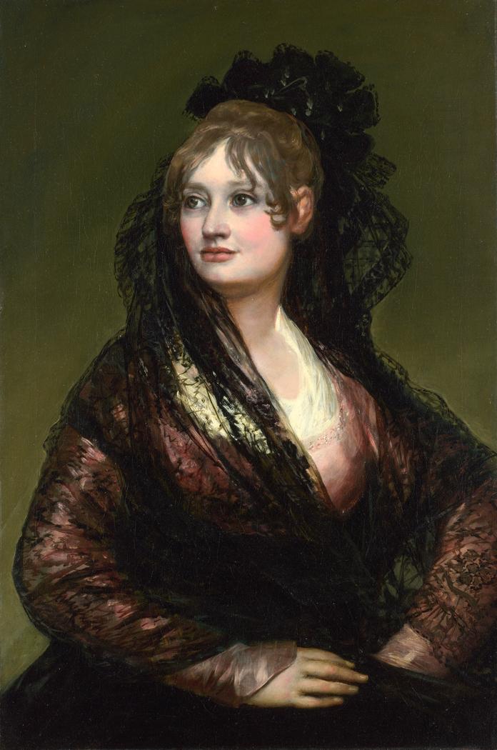 Portrait of Doña Isabel de Porcel