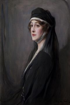 Portrait of Grace Elvina Hinds, Marchioness Curzon of Kedleston (1877-1958)