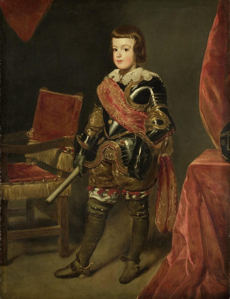 Portrait of Infante Balthasar Carlos