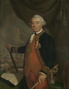 Portrait of Johan Arnold Zoutman