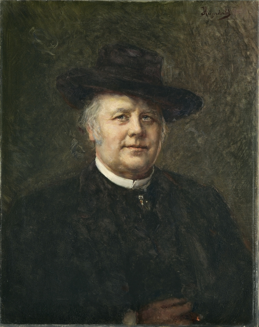 Portrait of Johannes Finne Brun