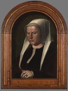 Portrait of Judoca van Egmond van der Nieuburgh
