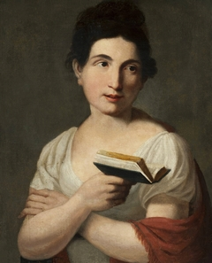Portrait of Maria Anna Filipina Malińska née Pechwell.