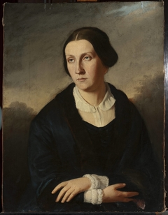 Portrait of Maria Januszkiewicz née Bułharyn (1824–1880)