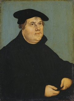 Portrait of Martin Luther (pendant of GK 18) (1543)