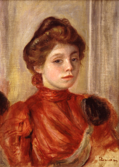 Portrait of Mlle Lerolle