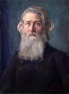Portrait of Professor Ernst Sars