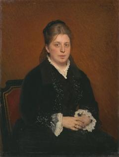 Portrait of Sofia Sergeyevna Botkina