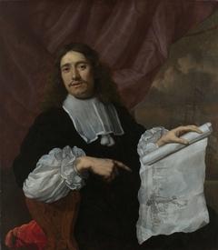 Portrait of the Painter Willem van de Velde II