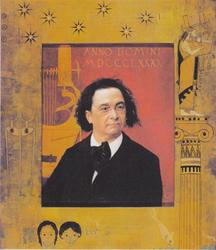 Portrait of the pianist Joseph Pembauer