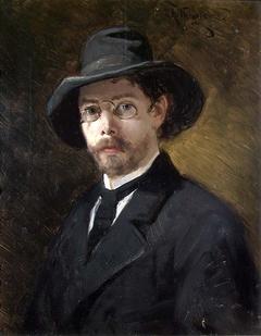 Portrait of the Swedish Painter Reinhold Callmander