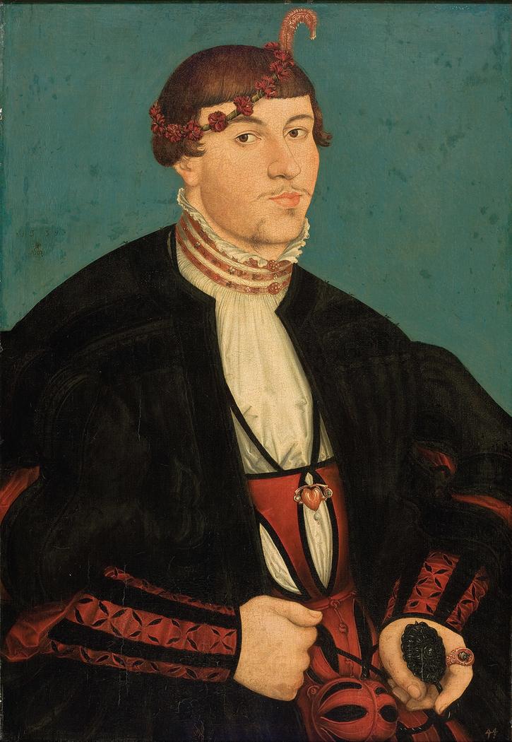 Portrait of young aristocrat Rava family