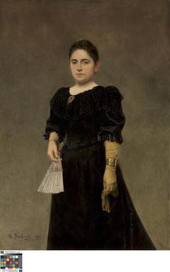 Portret van Honorine Dugardein