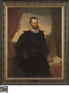 Portret van Nicolas Despars, burgemeester van Brugge