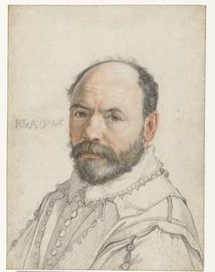 Portret van Pierre Francheville (Francavilla)