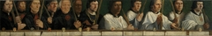 Portretten van twaalf leden van de Utrechtse Jeruzalembroederschap