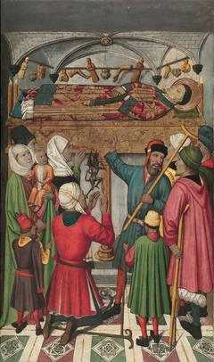Posthumous Miracles by Saint Vincent