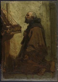 Praying Monk (Monk at his Devotions)