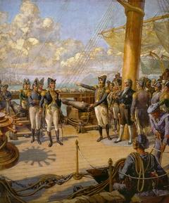 Príncipe Regente Dom Pedro e Jorge de Avilez a Bordo da Fragata União