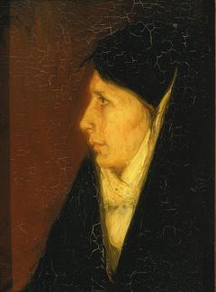 Profile of a Woman's Head
