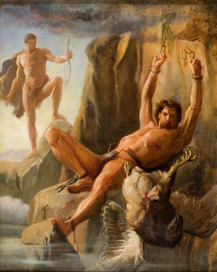 Prometheus' Befreiung