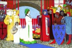 Queen Margaret Landing at London Bridge