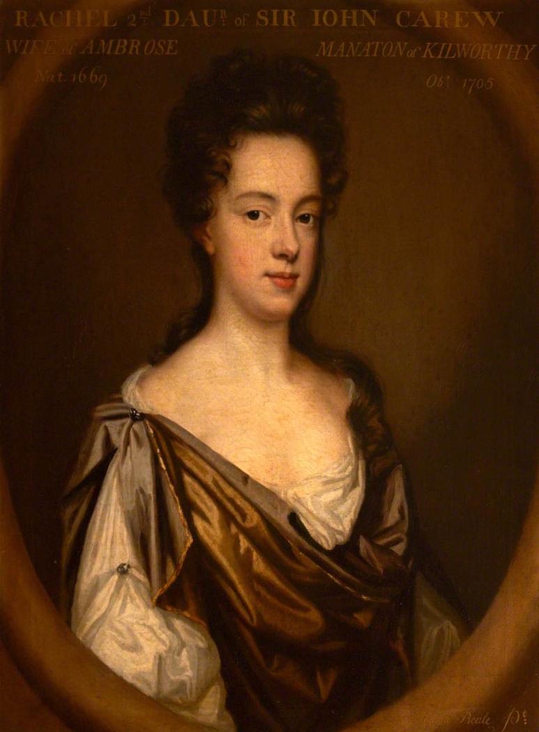 Rachel Carew, Mrs Ambose Manaton (1669–1705)