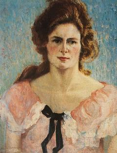 Retrato de Yvonne