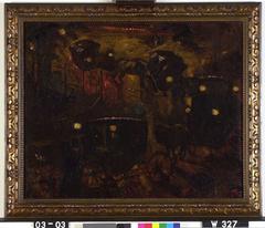 Rijtuigen op Rembrandtsplein