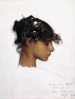 Rosina Ferrara, Head of a Capri Girl