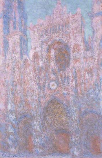 Rouen Cathedral, Symphony in Grey and Pink