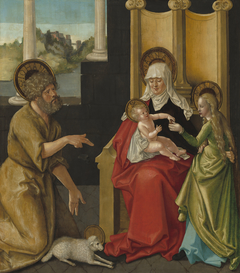 Saint Anne with the Christ Child, the Virgin, and Saint John the Baptist