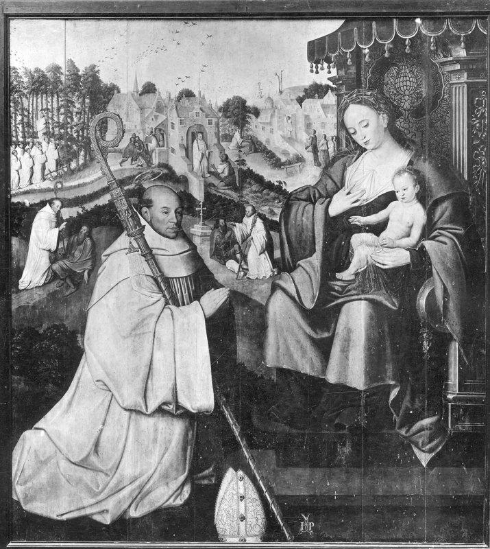 Saint Bernardus before the Virgin and Child