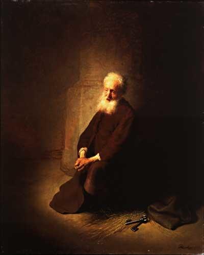 Saint Peter in prison