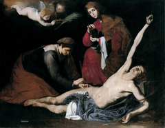 Saint Sebastian Tended by the Holy Women