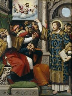 Saint Stephen accused of Blasphemy