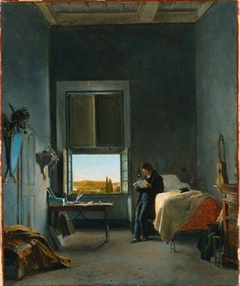 The Artist in His Room at the Villa Medici, Rome