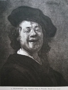 Self-portrait or Bust of a Laughing Man