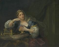 Sigismunda mourning over the Heart of Guiscardo