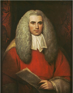 Sir Thomas Strange, 1756 - 1841. Chief Justice in Madras