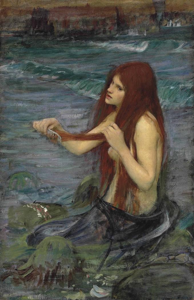 Sketch for A Mermaid