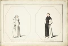 Staande non en staande broeder
