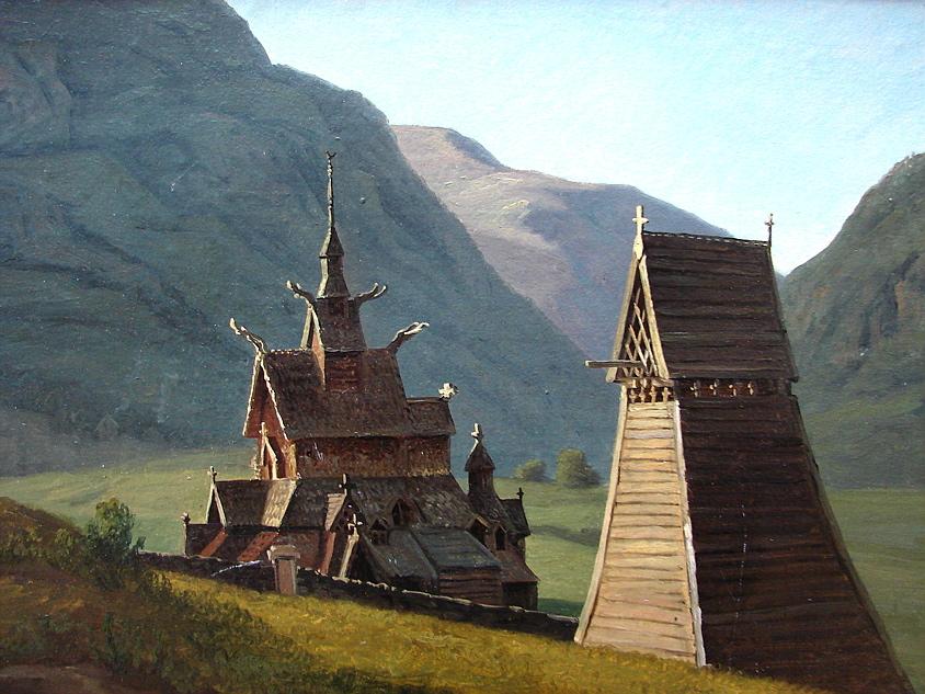 Stave Church, Borgund, Norway
