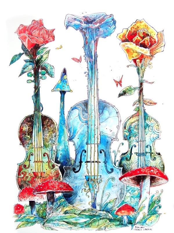 Strings garden