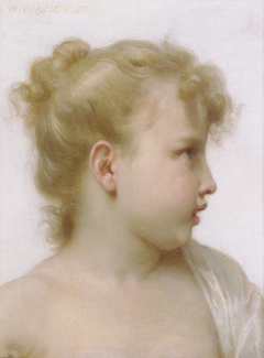 Study - Head Of A Little Girl