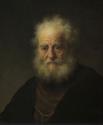 Study of an Old Man with a Gold Chain