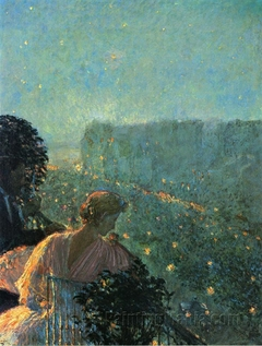 Summer Evening, Paris